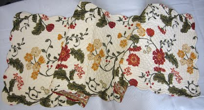 Quilted Place Mats Amp Runners La Provence In Charleston